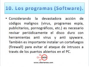 Mantenimiento preventivo de una Computadora 11