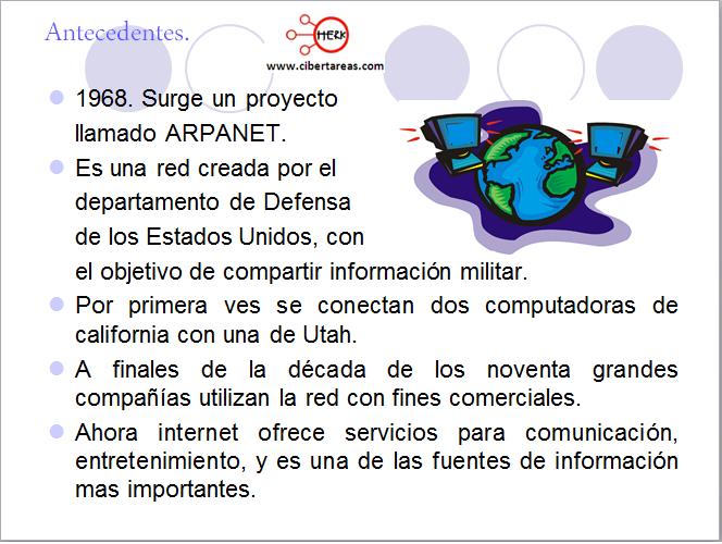 Servicios que ofrece internet – Informática 1 1