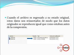 Concepto de compresión de archivos 3