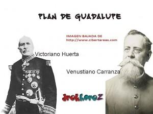 Plan de Guadalupe-Historia de Mexico 0