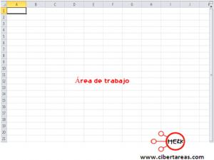 Elementos y barras principales de la pantalla de Excel 2010 3