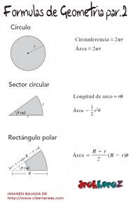 Formulario de Geometría #1 1