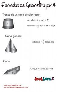 Formulario de Geometría #1 3