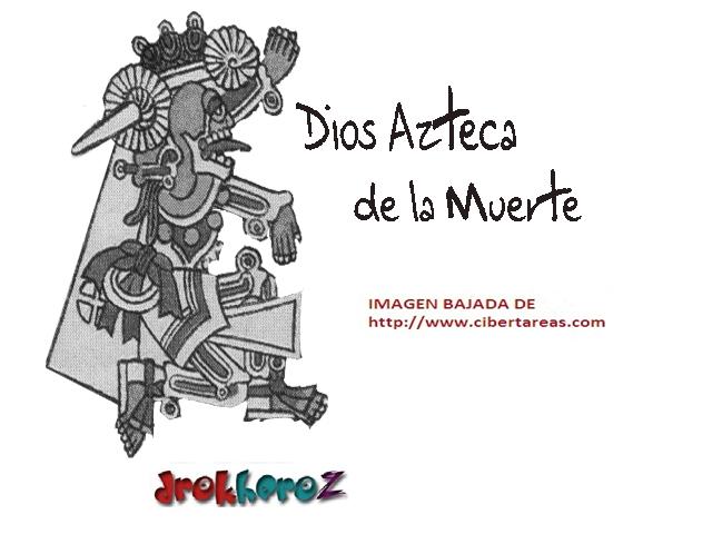 Dios Azteca De La Muerte Día De Muertos Cibertareas