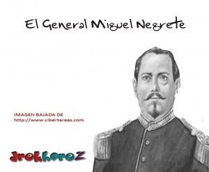 El General Miguel Negrete -Batalla del 5 de Mayo 0