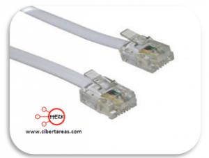 Los cables de la computadora. 5