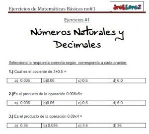 Ejercicios de Matemáticas Básicas no2-vol-2 4