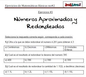 Ejercicios de Matemáticas Básicas no2-vol-2 2