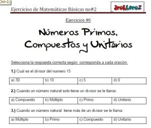 Ejercicios de Matemáticas Básicas no2-vol-1 4