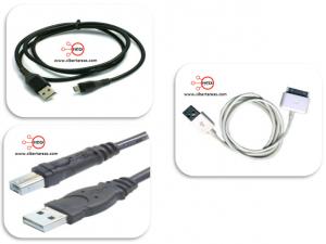 Los cables de la computadora. 6