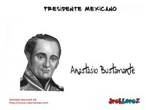Anastasio Bustamante-Presidente Mexicano 0