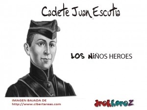 Cadete Juan Escutia-los niños heroes 0