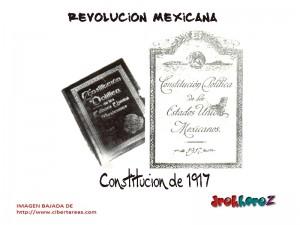 Constitución de 1917-Revolución Mexicana 0