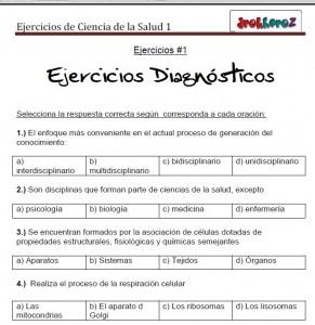 Ejercicios Diagnósticos vol-1-Ciencias de la Salud_1 0