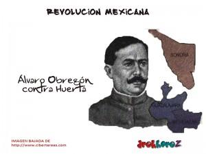 Lucha contra Huerta-Revolución Mexicana 2