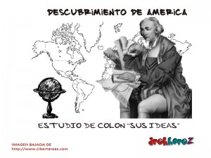 Estudio de Colon y sus Ideas-descubrimiento de América 0
