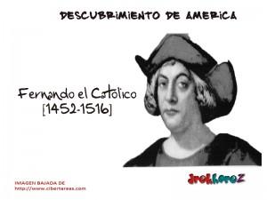 Fernando el Católico-descubrimiento de América 0