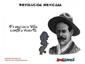 Lucha contra Huerta-Revolución Mexicana 1