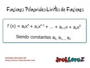 Funciones Polinomiales-Límites de Funciones-Calculo Diferencial 0