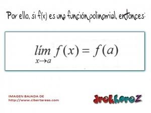 Funciones Polinomiales-Límites de Funciones-Calculo Diferencial 1