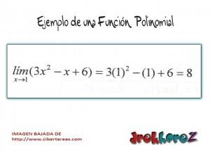 Funciones Polinomiales-Límites de Funciones-Calculo Diferencial 2