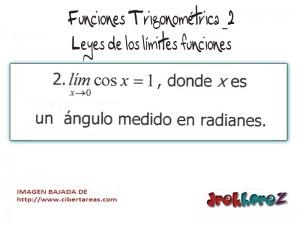Funciones Trigonométricas- Leyes de los Límites Funciones 2