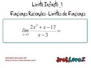 Limite Infinito-Funciones Racionales-Limites de Funciones 0