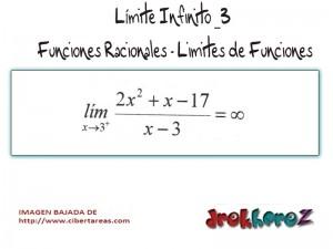 Limite Infinito-Funciones Racionales-Limites de Funciones 2