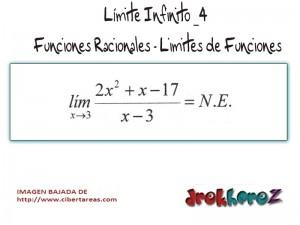 Limite Infinito-Funciones Racionales-Limites de Funciones 3