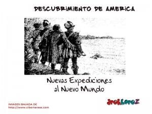 Nuevas Expediciones al Nuevo Mundo-descubrimiento de América 0