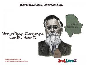 Lucha contra Huerta-Revolución Mexicana 0