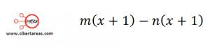 Factorización Factor común por agrupación de términos – Matemáticas 1 2