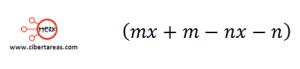 Factorización Factor común por agrupación de términos – Matemáticas 1 1