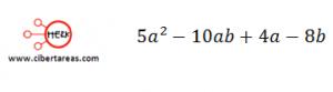 Factorización Factor común por agrupación de términos – Matemáticas 1 7