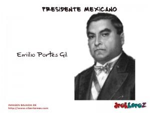 Emilio Portes Gil – Presidente Mexicano 0