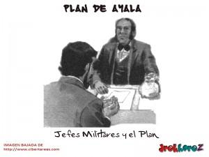Jefes Militares y el Plan – Plan de Ayala 0