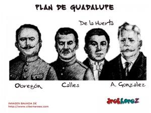 Obregón,Calles,de la Huerta,A. Gonzalez – Plan de Guadalupe 0