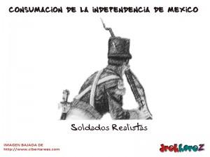 Soldados Realistas – Consumación de la Independencia de México 0