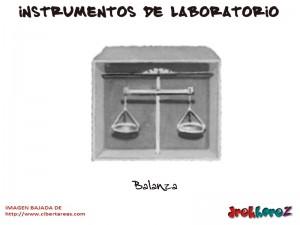 Balanza-Instrumentos de Laboratorio
