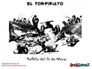 Batalla del 5 de Mayo-El Porfiriato