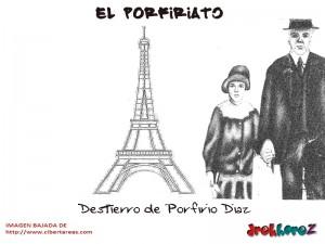 Destierro de Porfirio Diaz-EL Porfiriato