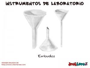 Embudos-Instrumentos de Laboratorio