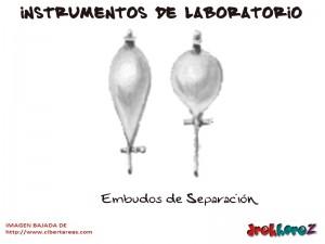Embudos de Separacion-Instrumentos de Laboratorio