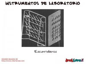 Escurrideros-Instrumentos de Laboratorio