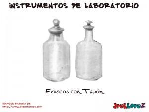 Frascos con Tapon-Instrumentos de Laboratorio