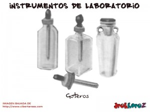 Goteros-Instrumentos de Laboratorio
