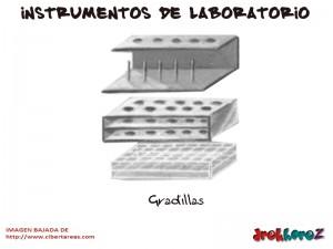 Gradillas-Instrumentos de Laboratorio