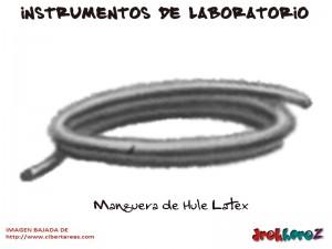 Manguera de Hule Latex-Instrumentos de Laboratorio