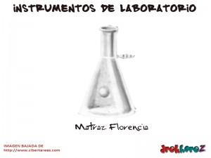 Matraz Florencia-Instrumentos de Laboratorio