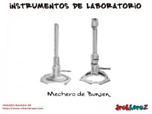 Mechero de Bunsen-Instrumentos de Laboratorio
